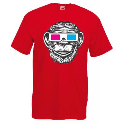 Monkey 3D T-Shirt with print