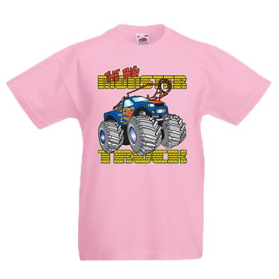 Monster Truck Kids T-Shirt with print