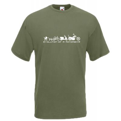 Motorbike Evolution T-Shirt with print