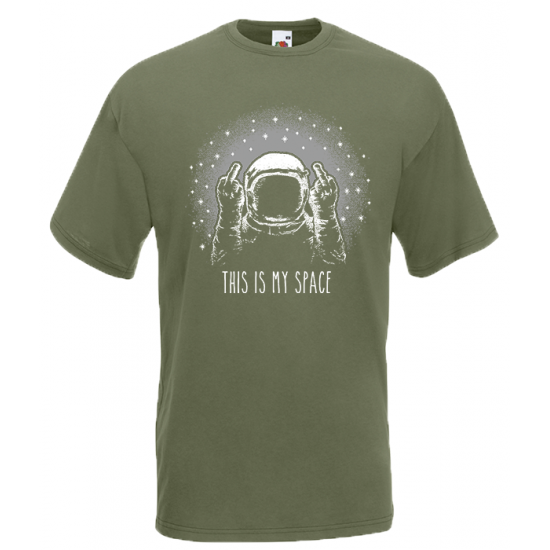 My Space T-Shirt with print
