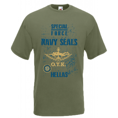 Navy Seals T-Shirt with print