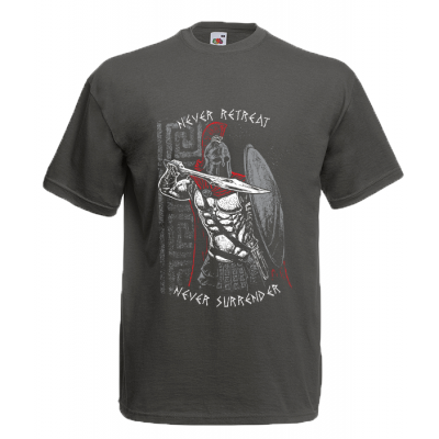 Never Retreat-Never Surrender T-Shirt with print