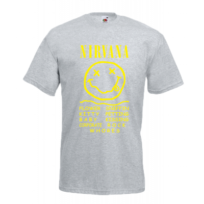 Nirvana Smile T-Shirt with print