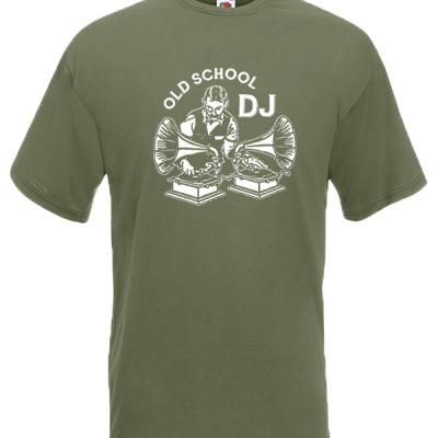 Old School DJ T-Shirt with print