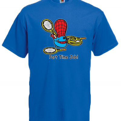 Part Time Job Spiderman T-Shirt with print