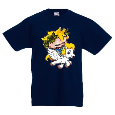 Pegasus Kids T-Shirt with print