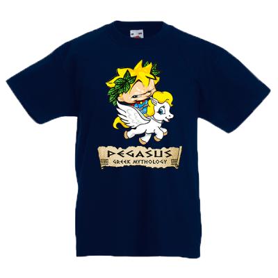 Pegasus Logo Kids T-Shirt with print