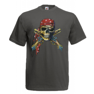 Pirate Skull T-Shirt with print
