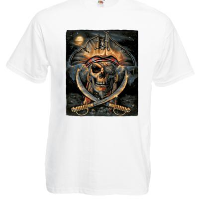 Pirates Sword T-Shirt with print
