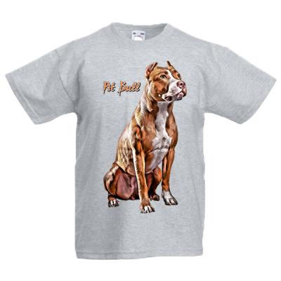 Pit Bull Kids T-Shirt with print