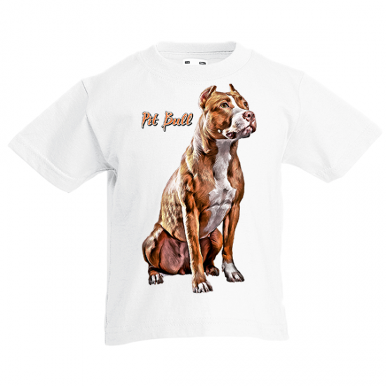 T-Shirt with print Pit Bull-A9084