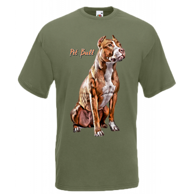 Pit Bull T-Shirt with print