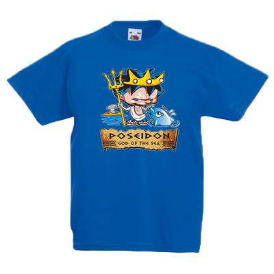 Poseidon Kids T-Shirt with print