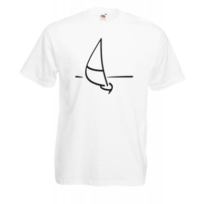 Ship Retro T-Shirt with print
