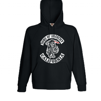 Sons Of Anarchy Hooded Sweatshirt with print