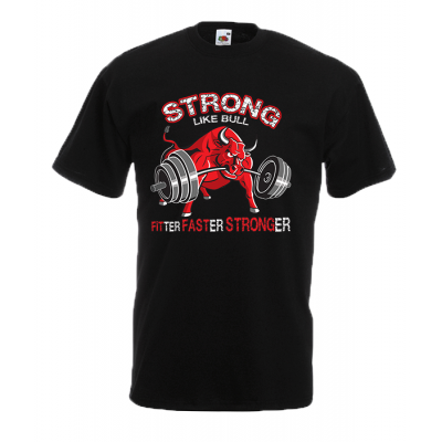 Strong Bull T-Shirt with print