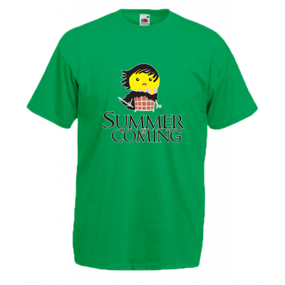 Summer Is Coming John Snow T-Shirt with print