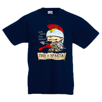 This Is Sparta Warrior Kids T-Shirt with print