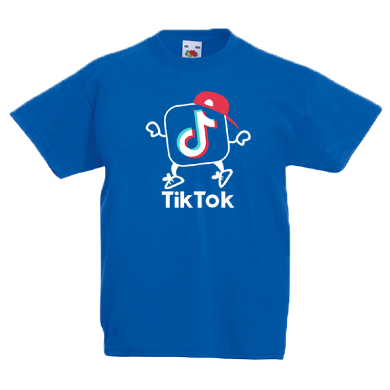 Τικ Τοκ 1 Kids T-shirt με στάμπα