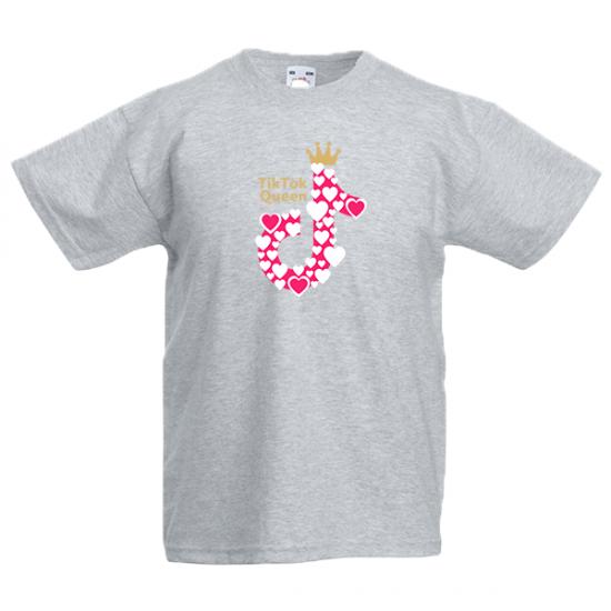 Tik Tok Queen Kids T-Shirt with print