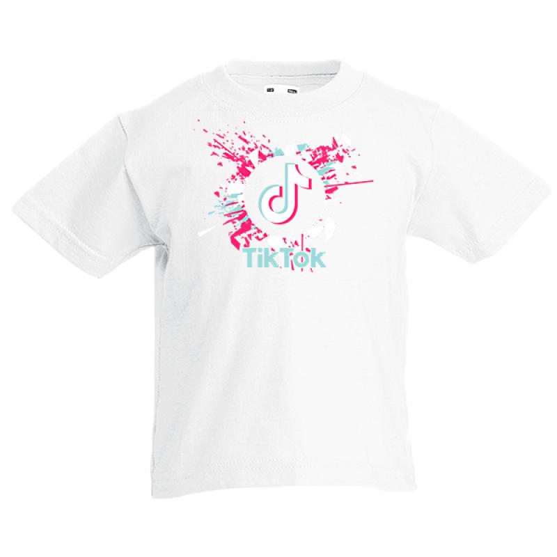 Τικ Τοκ 5 Kids T-shirt με στάμπα