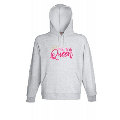 Tik Tok Queen 2 Hooded Sweatshirt with print