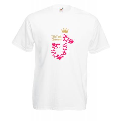 Tik Tok Queen T-Shirt with print