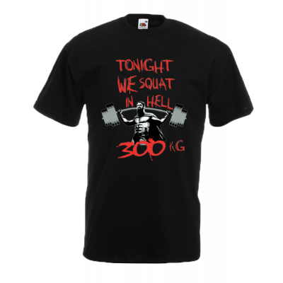 Squat in Hell T-Shirt with print